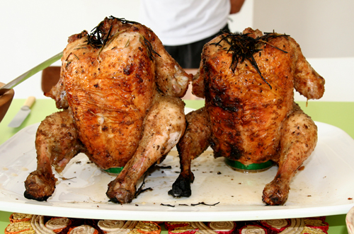 roasted beer can chicken