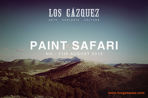 Paint Safari 4-11 August